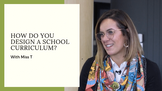 How do you develop a school curriculum?