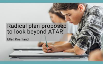 Radical plan proposed to look beyond ATAR